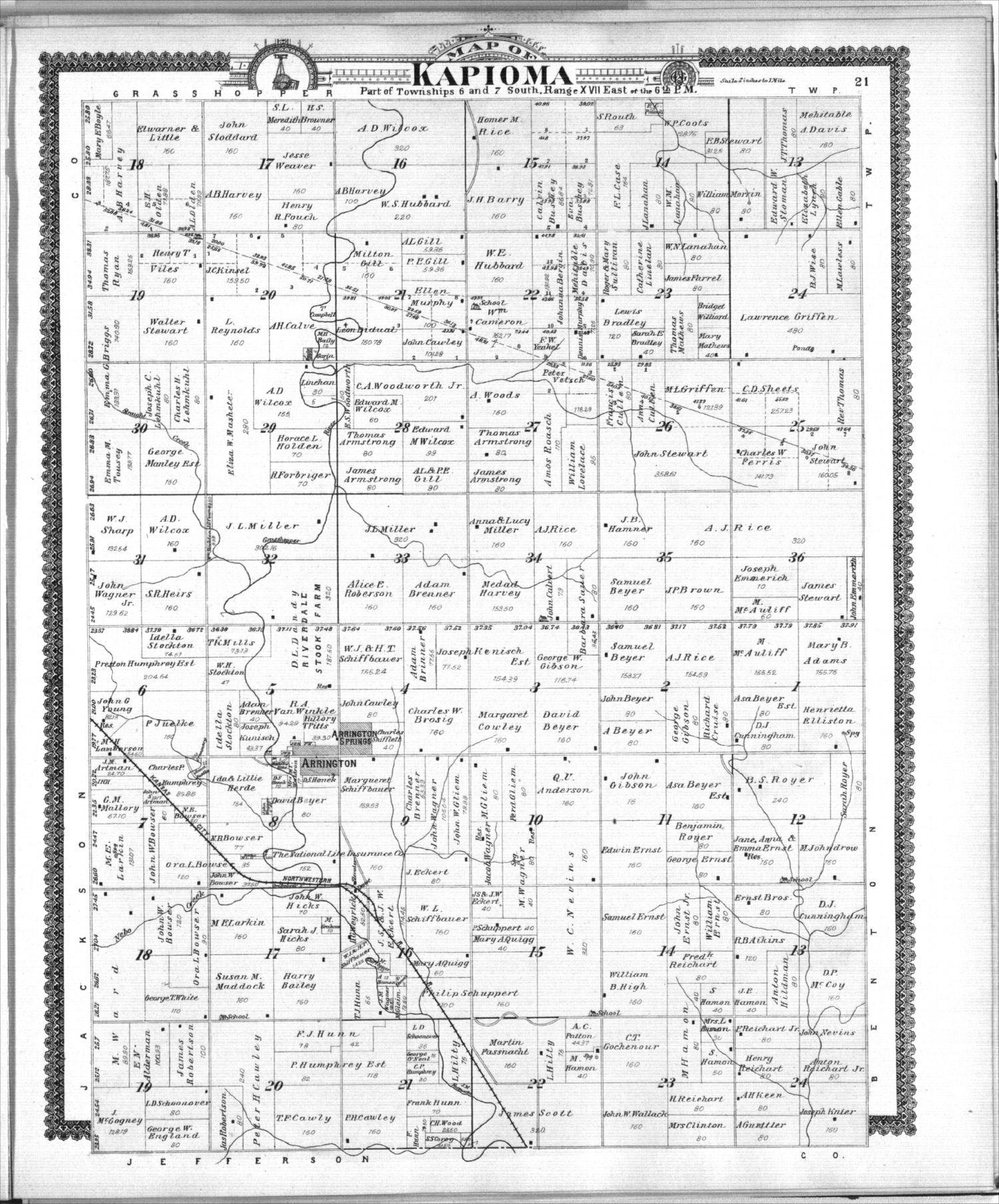 Standard atlas of Atchison County, Kansas - 21