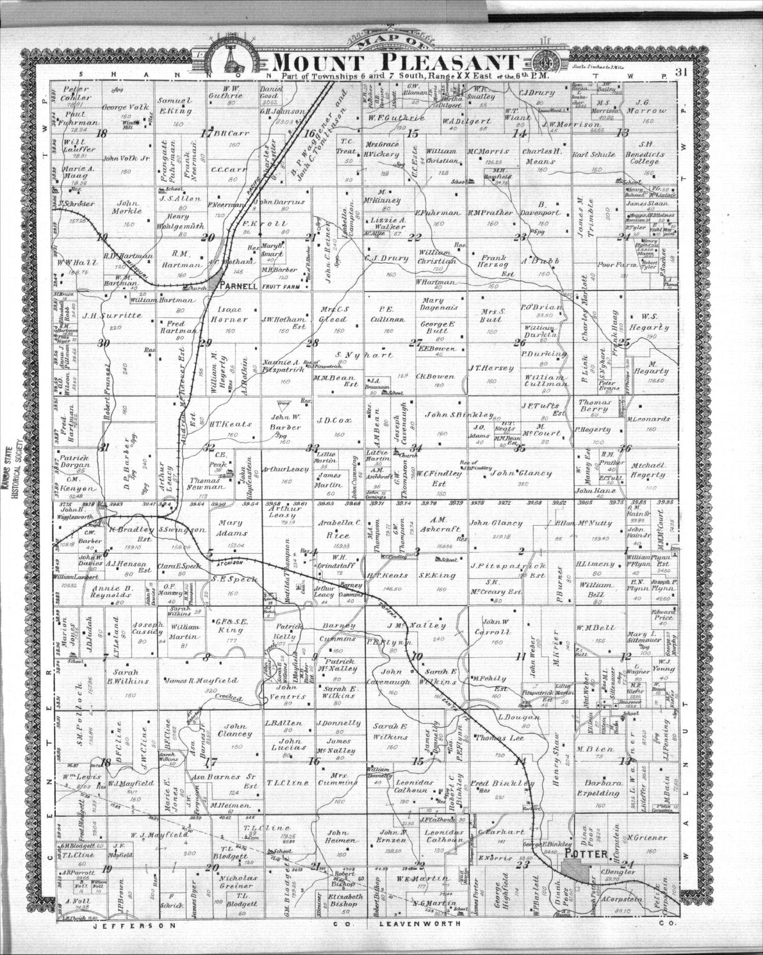 Standard atlas of Atchison County, Kansas - 31