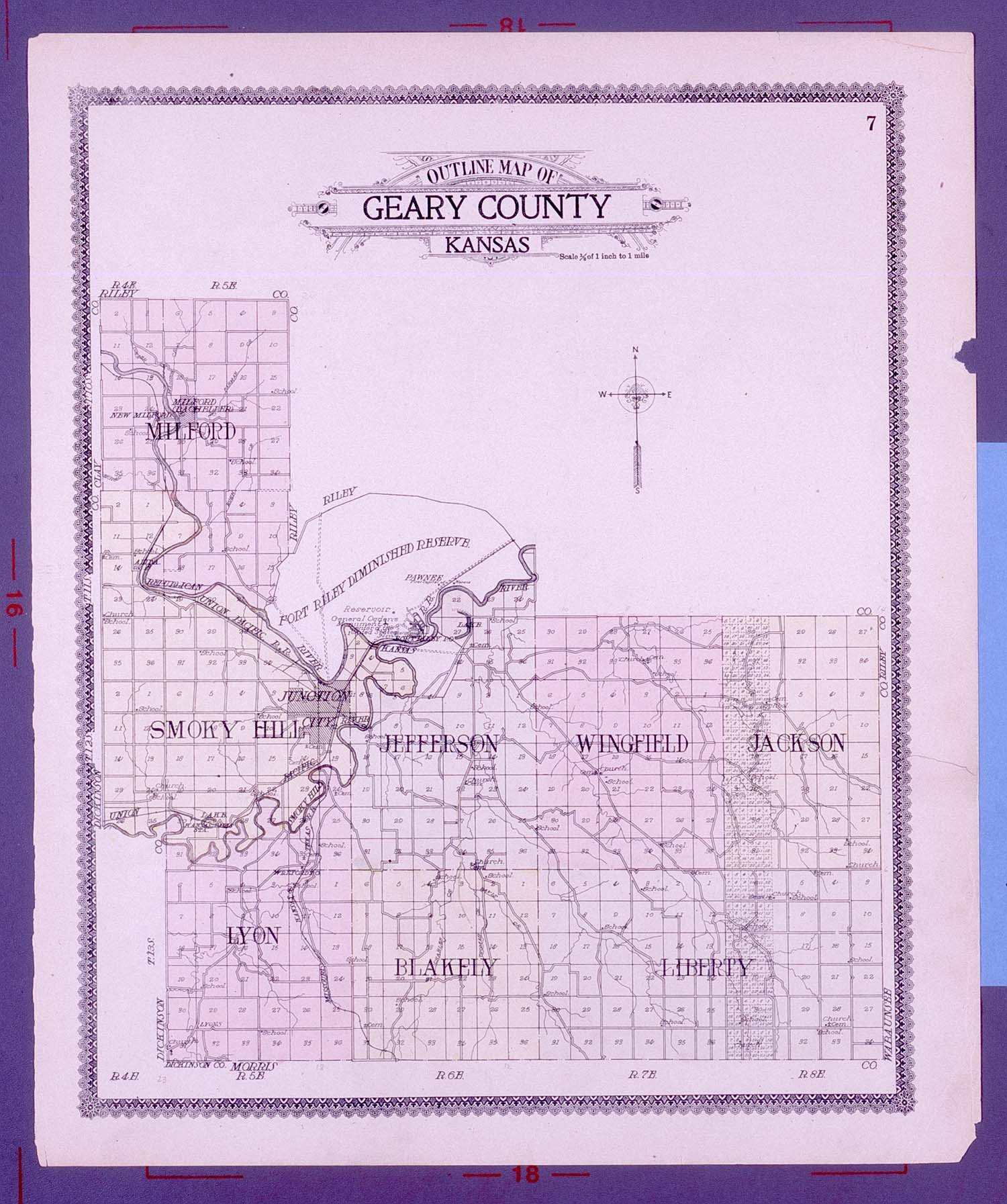Standard atlas of Geary County, Kansas - 7
