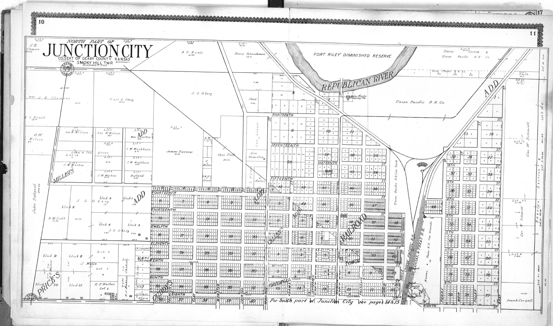 Standard atlas of Geary County, Kansas - 10 & 11