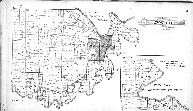 Standard atlas of Geary County, Kansas - 24 & 25