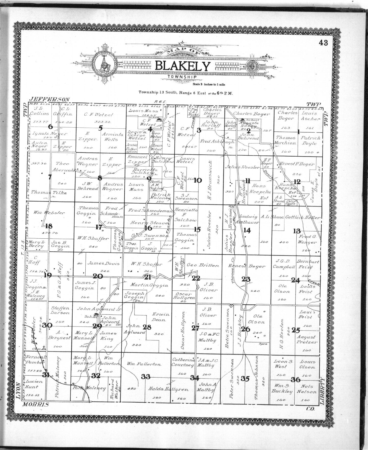 Standard atlas of Geary County, Kansas - 43
