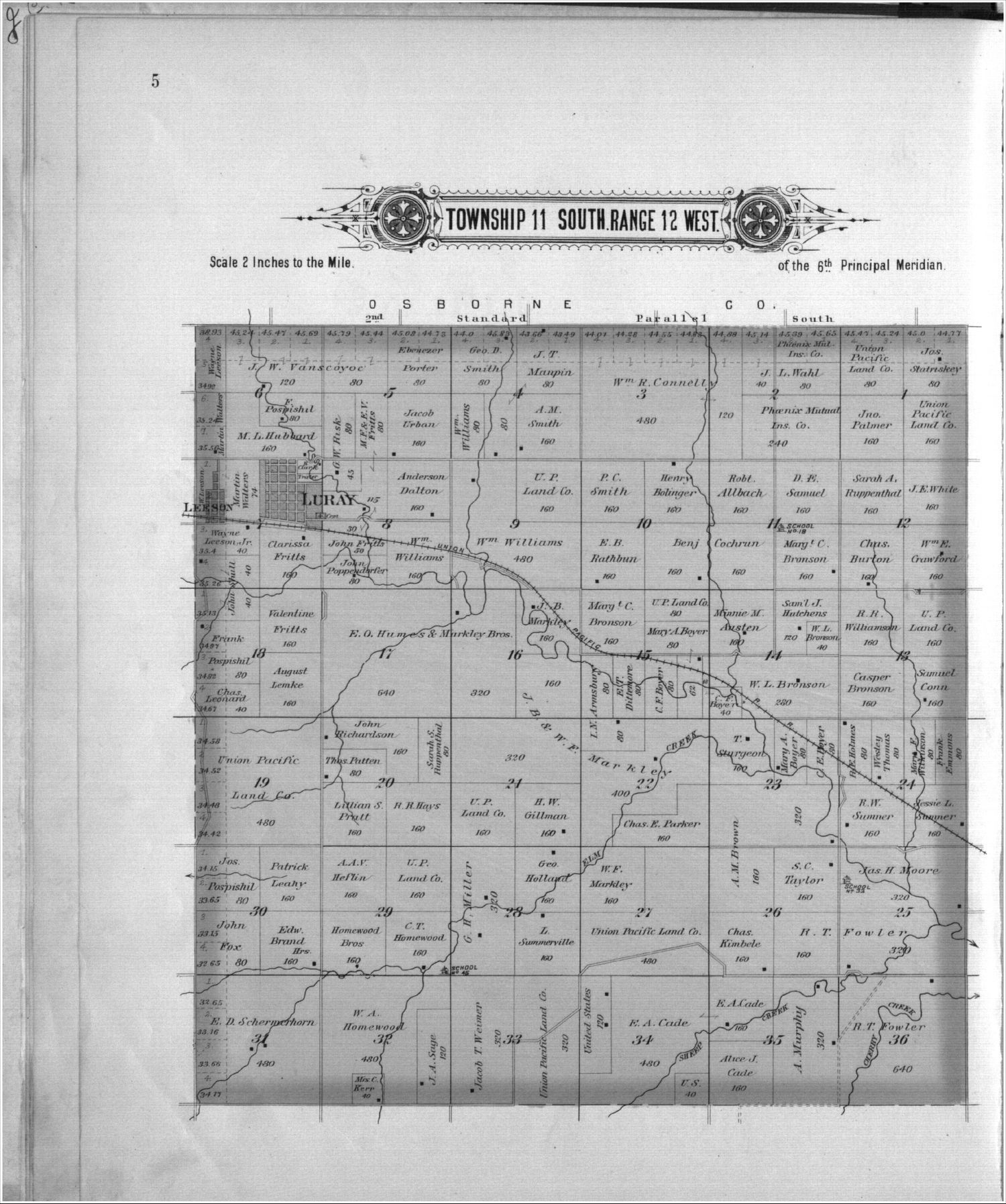 Plat book, Russell County, Kansas - 5