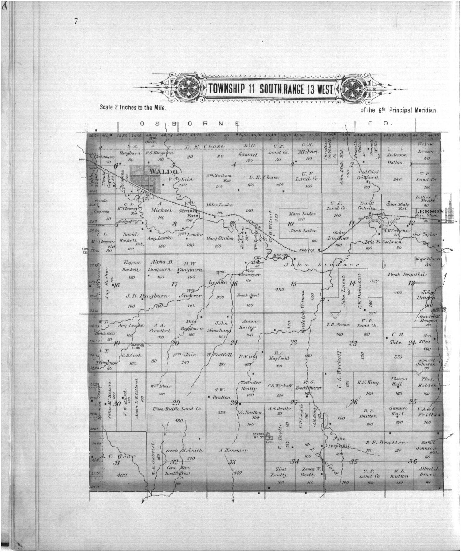 Plat book, Russell County, Kansas - 7