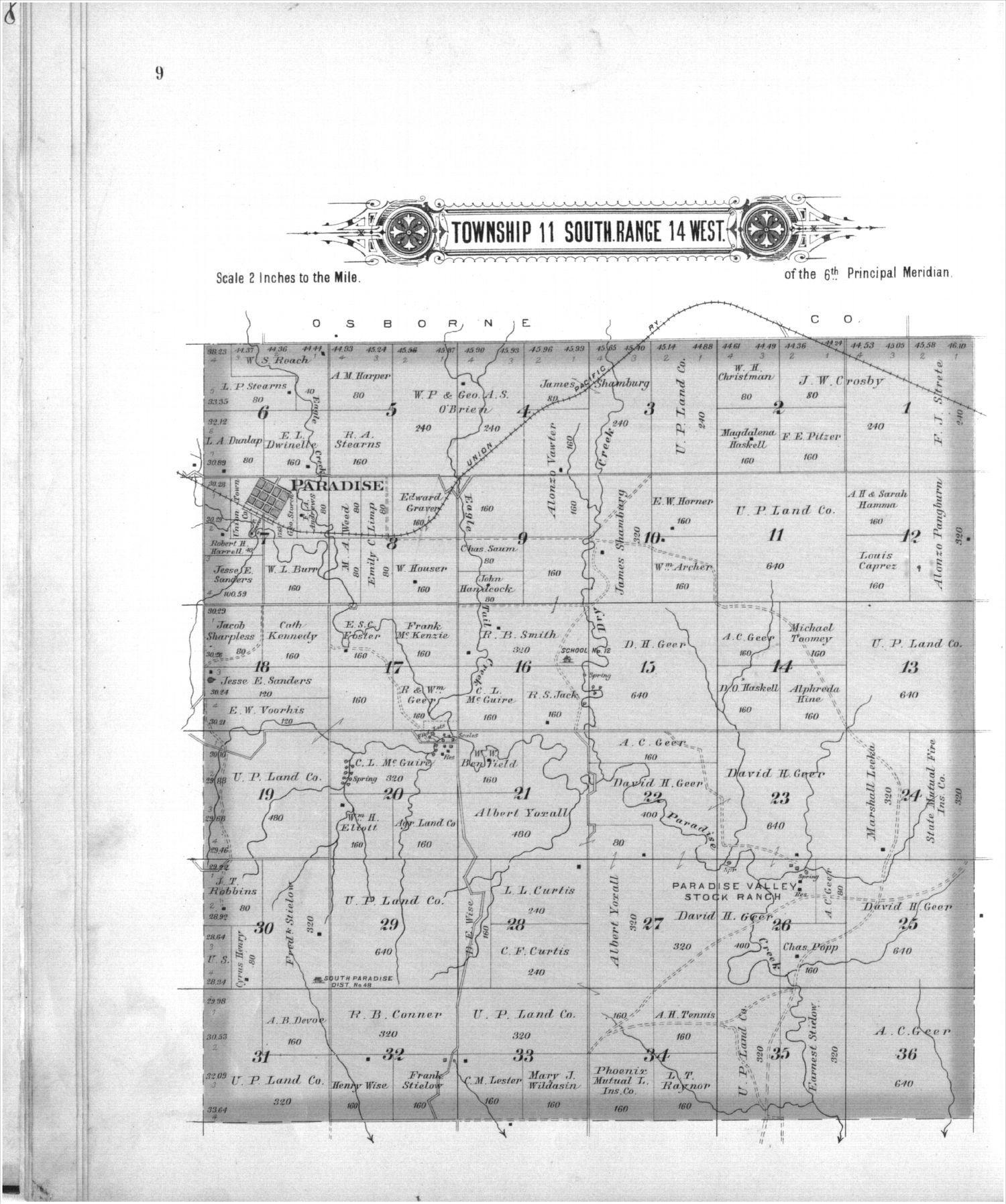 Plat book, Russell County, Kansas - 9