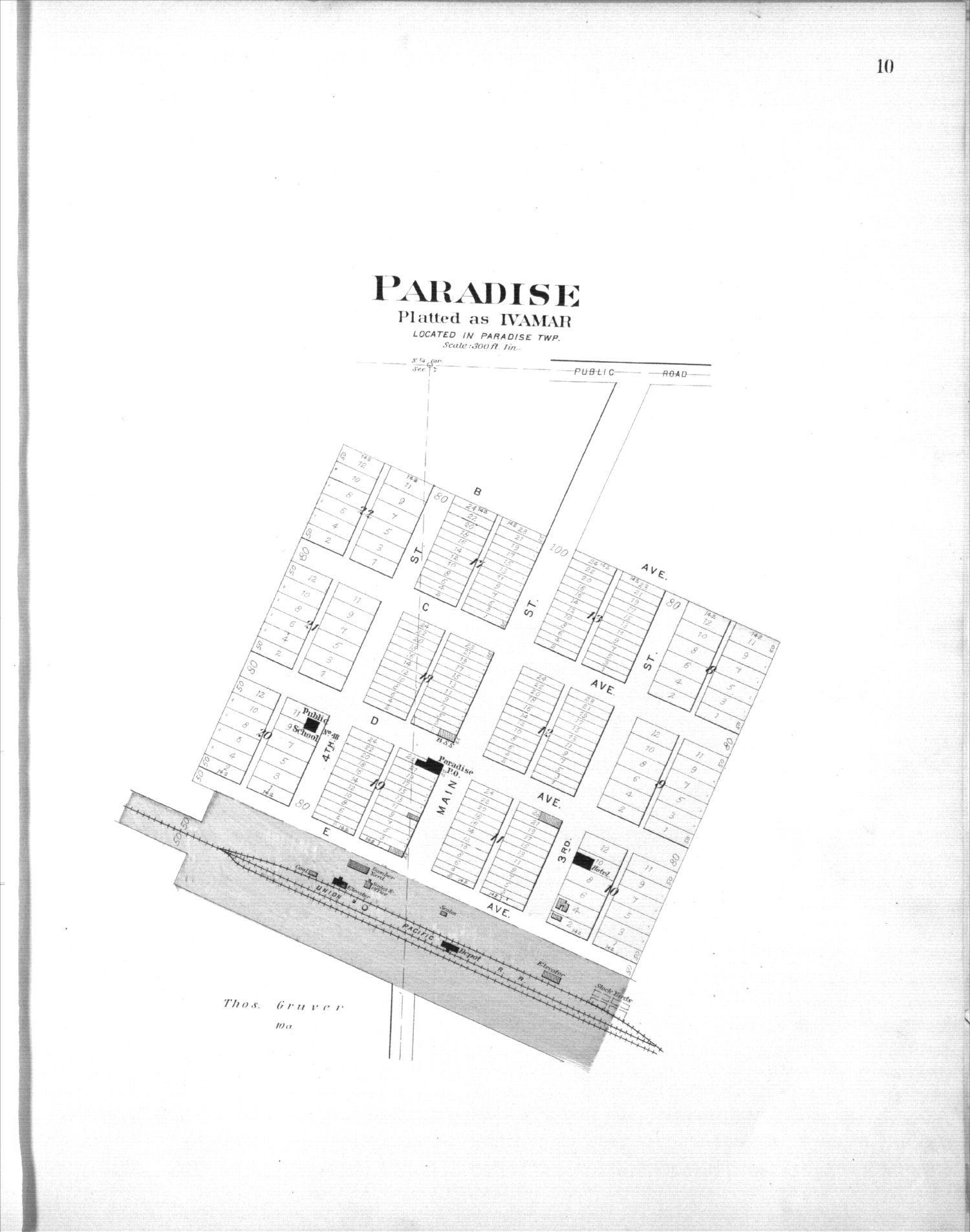 Plat book, Russell County, Kansas - 10