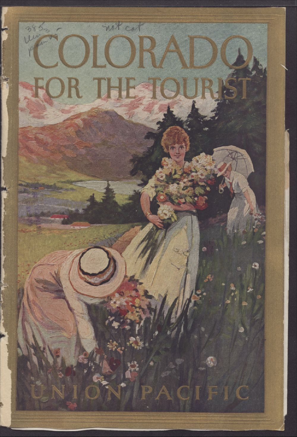 Colorado for the tourist - Front Cover