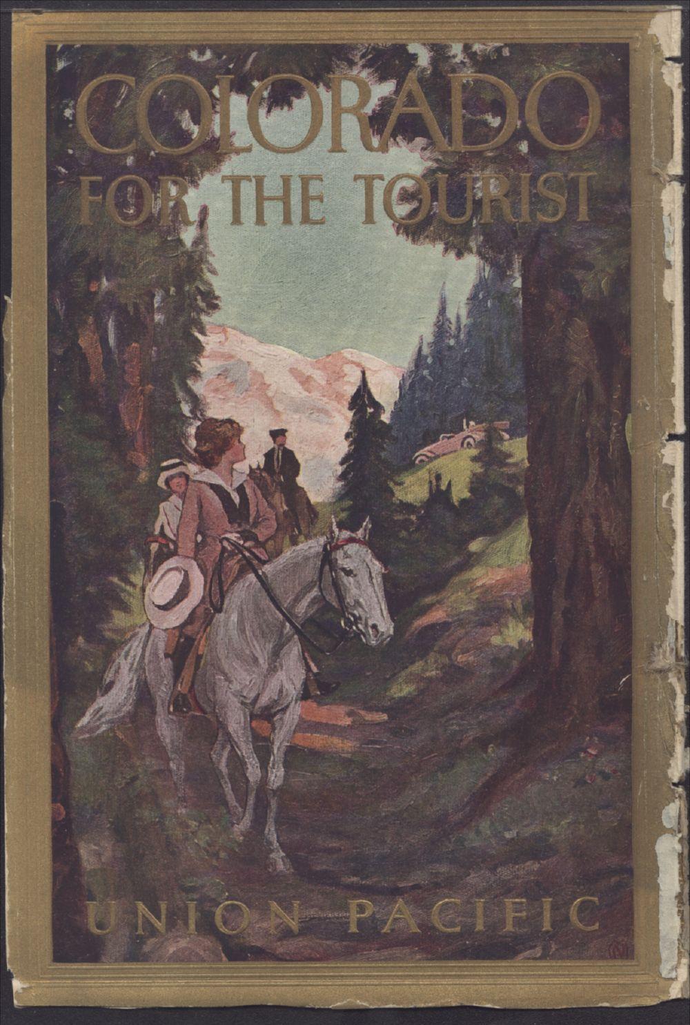 Colorado for the tourist - Back Cover