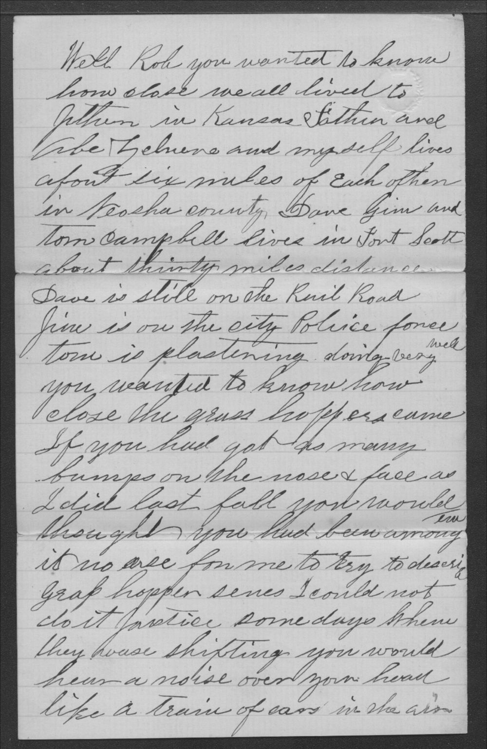 A. W. Johnson and Isabella Johnson to Robert S. Wickizer - 2