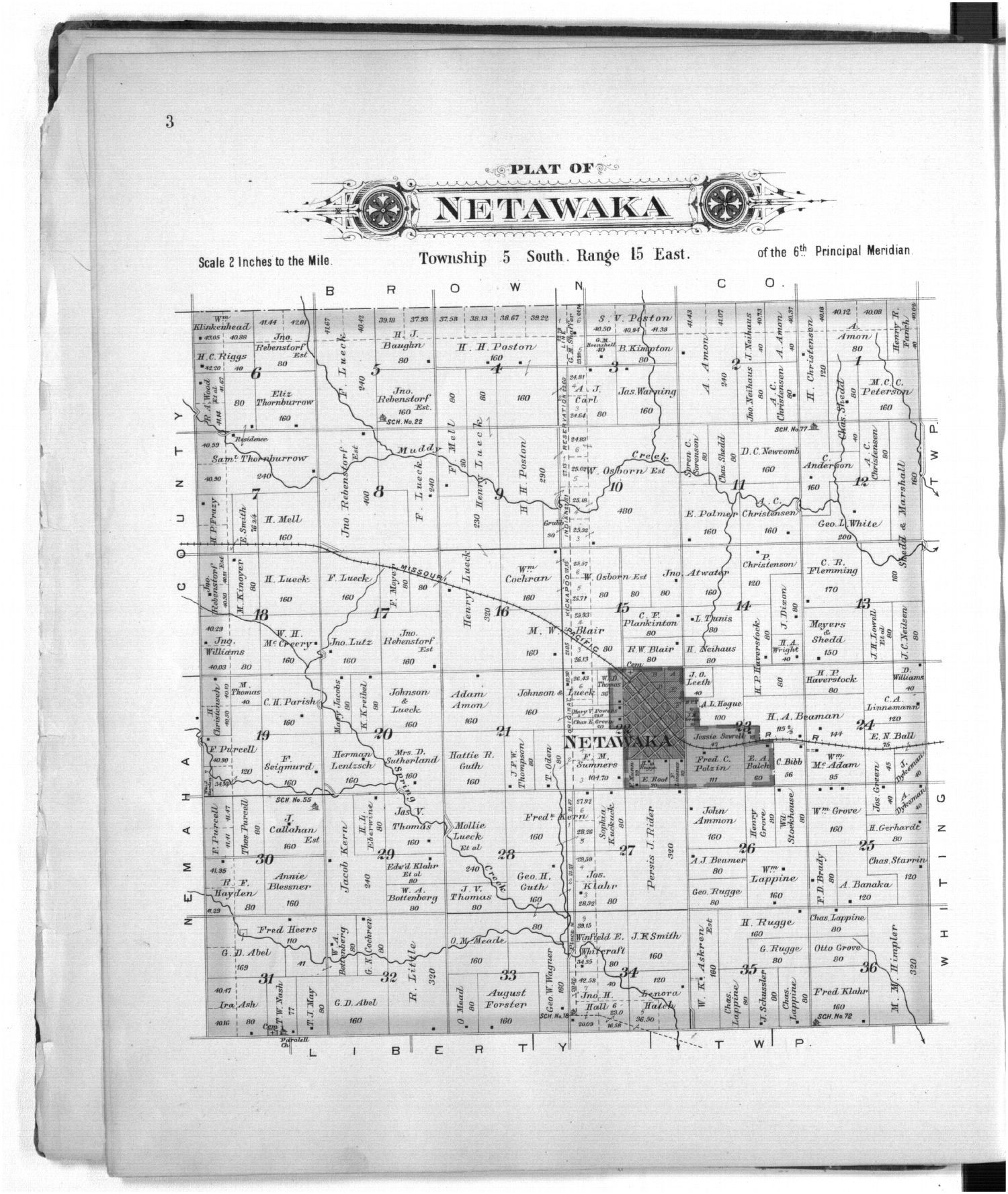 Plat book of Jackson County, Kansas - 3