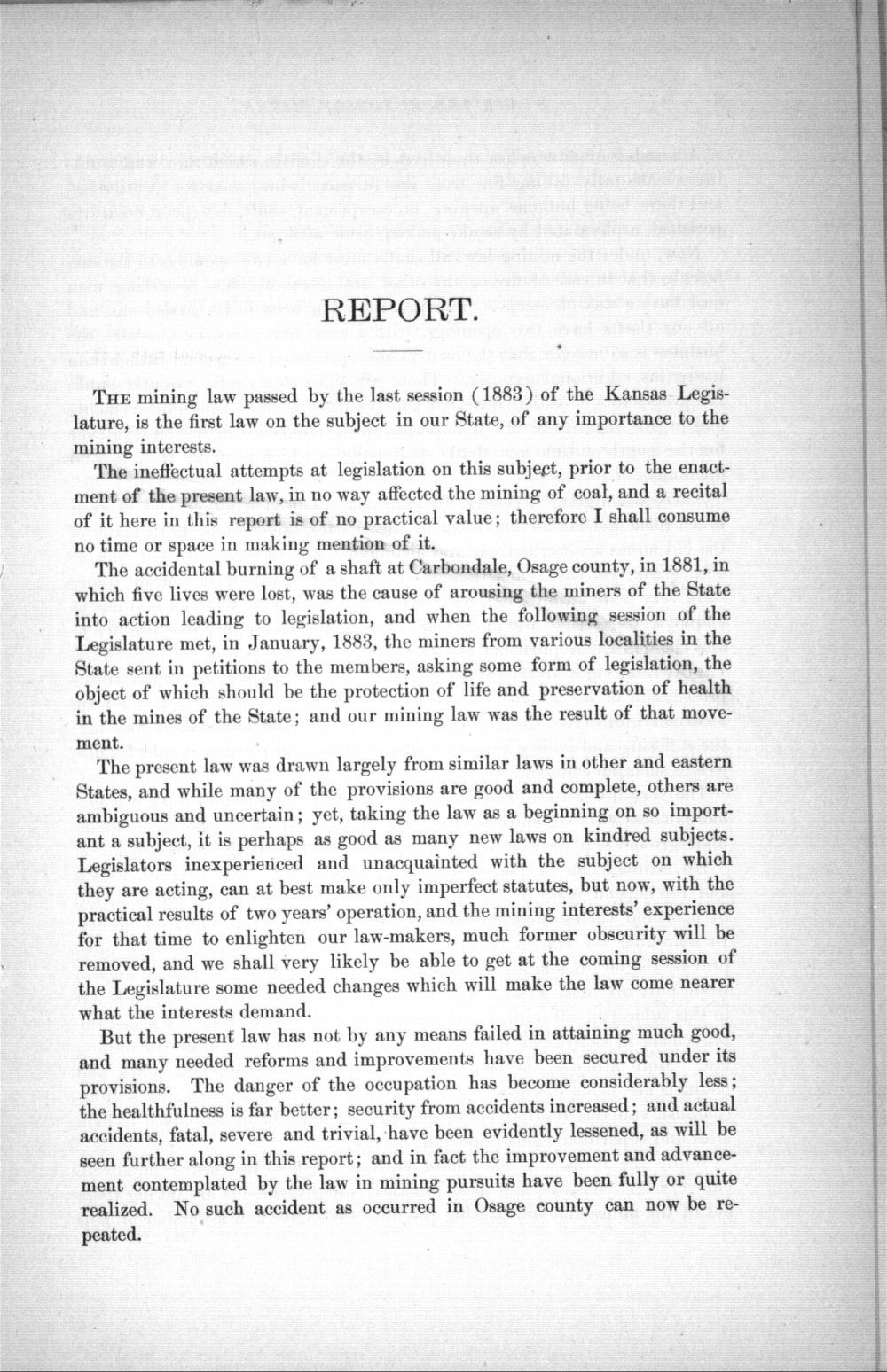 State inspector of coal mines reports - 3
