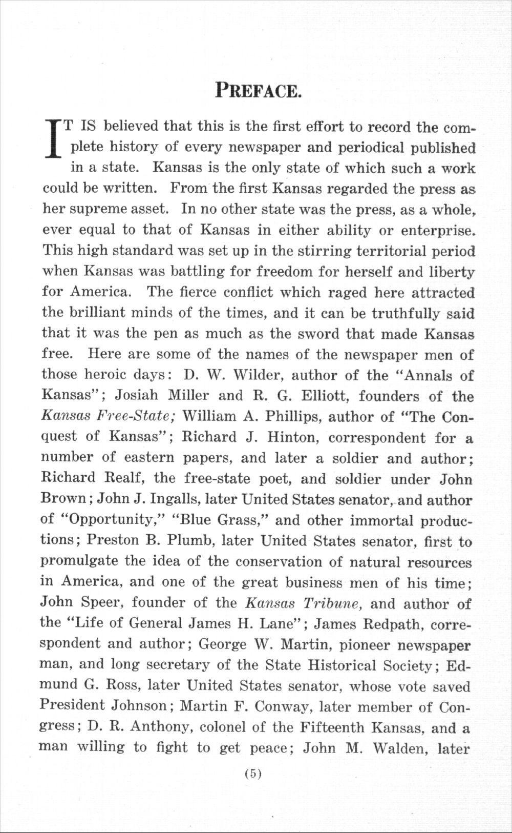History of Kansas newspapers - 5