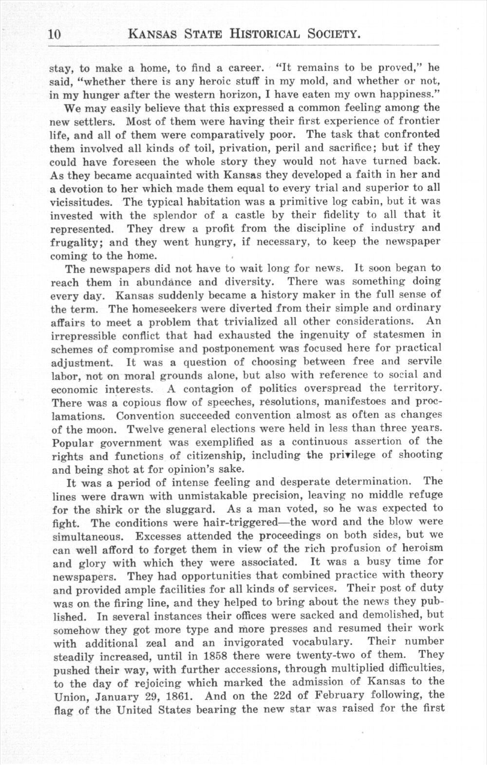 History of Kansas newspapers - 10