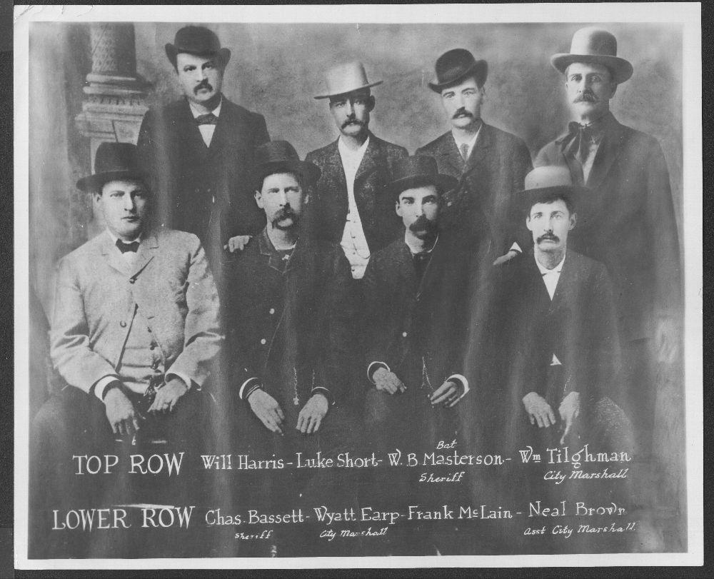 Dodge City Peace Commission - With Wm. Tilghman