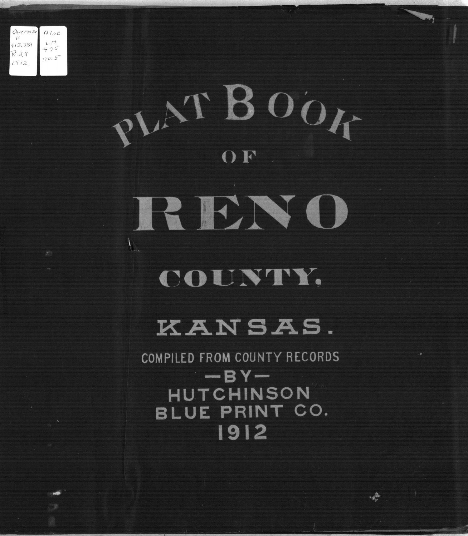 Plat book of Reno County, Kansas - Title Page