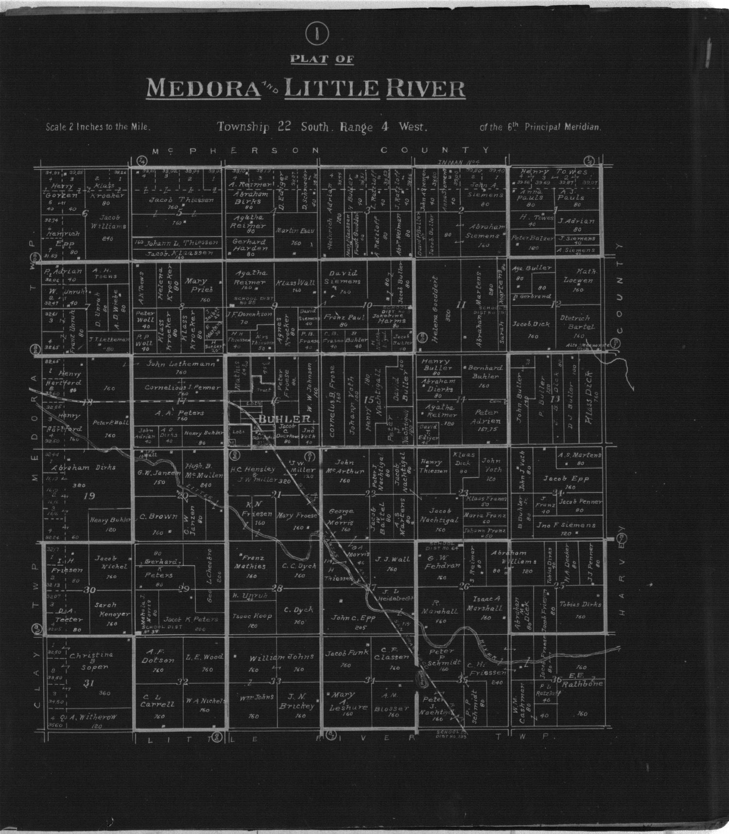 Plat book of Reno County, Kansas - 1