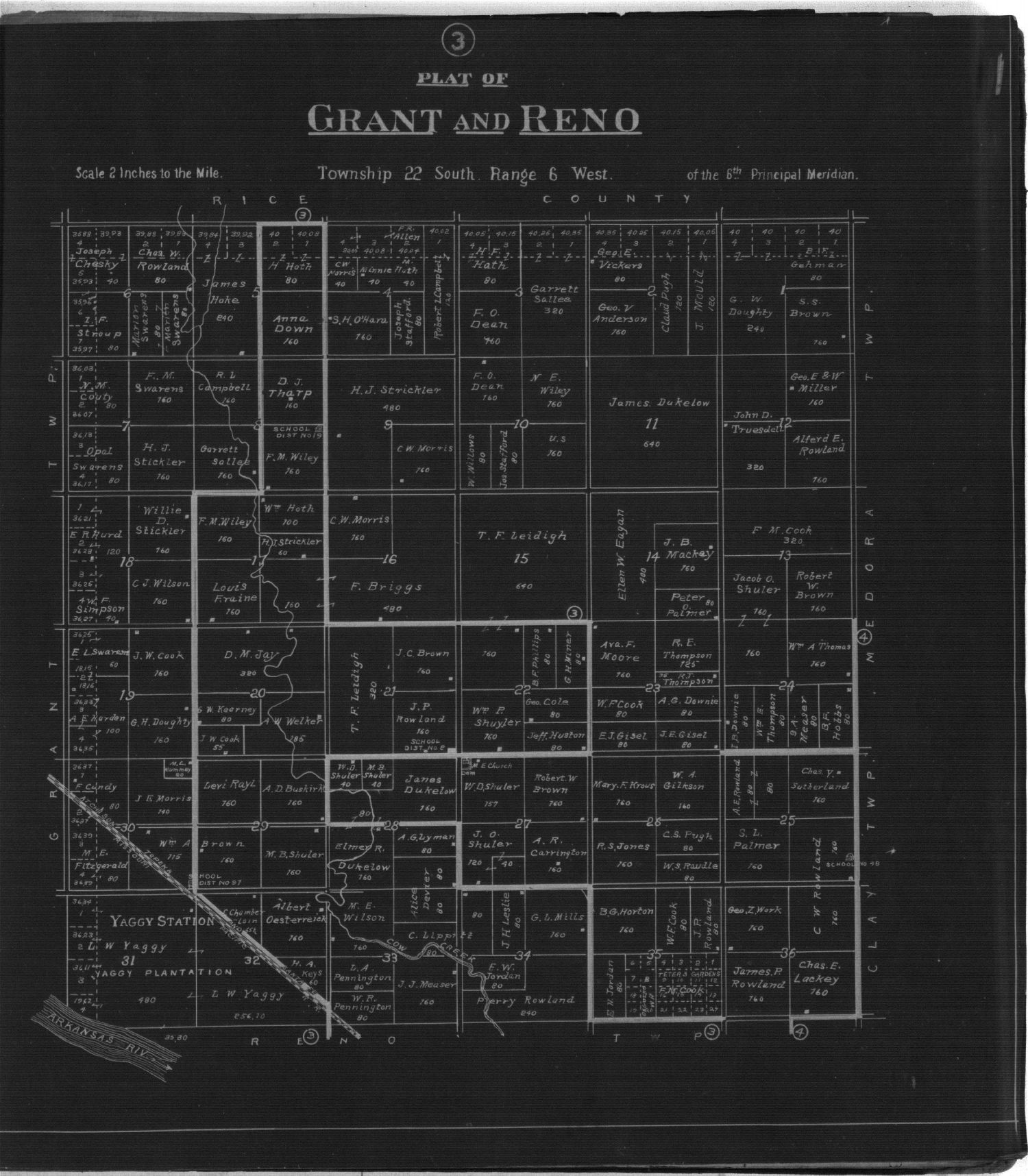 Plat book of Reno County, Kansas - 3