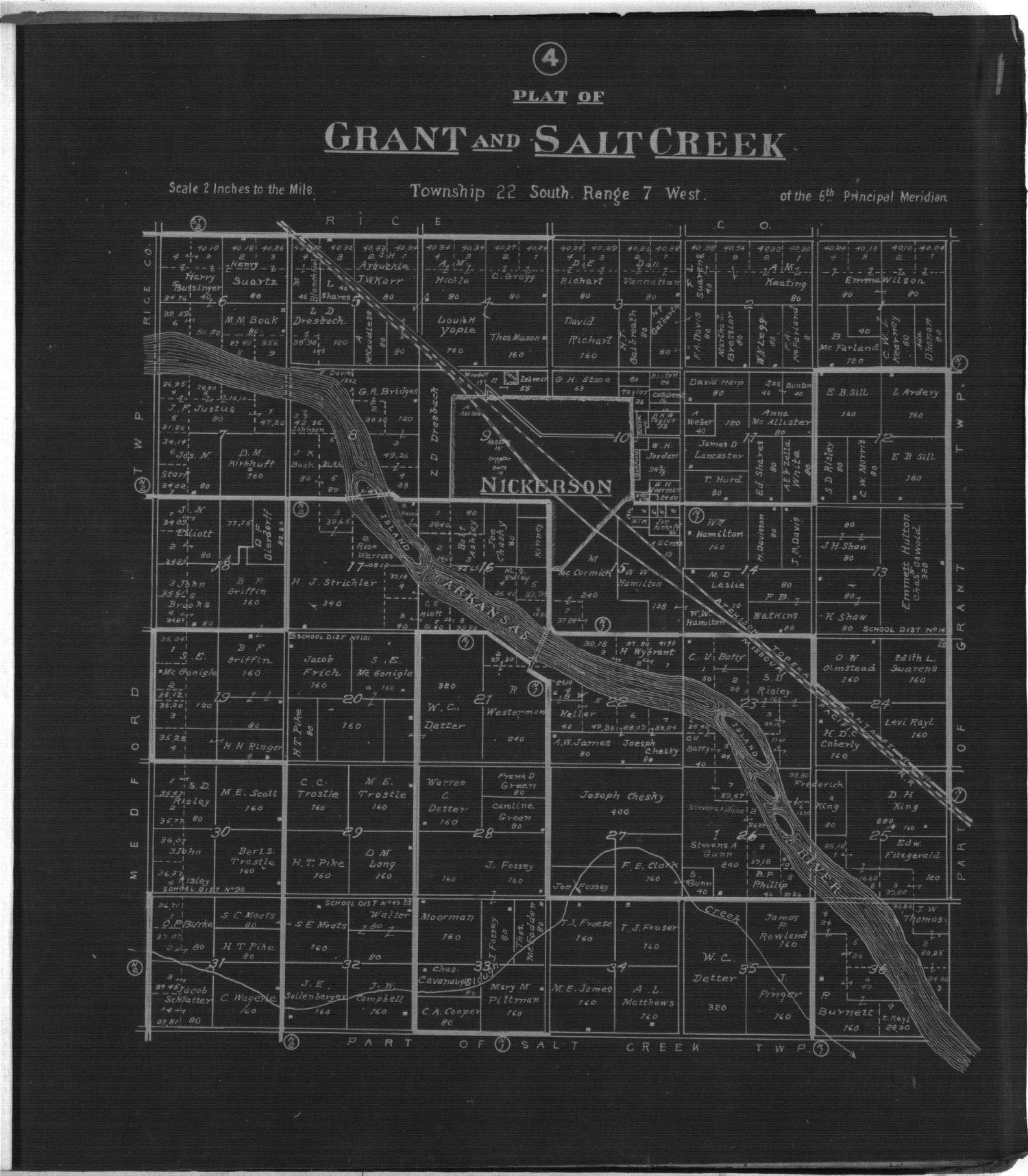Plat book of Reno County, Kansas - 4