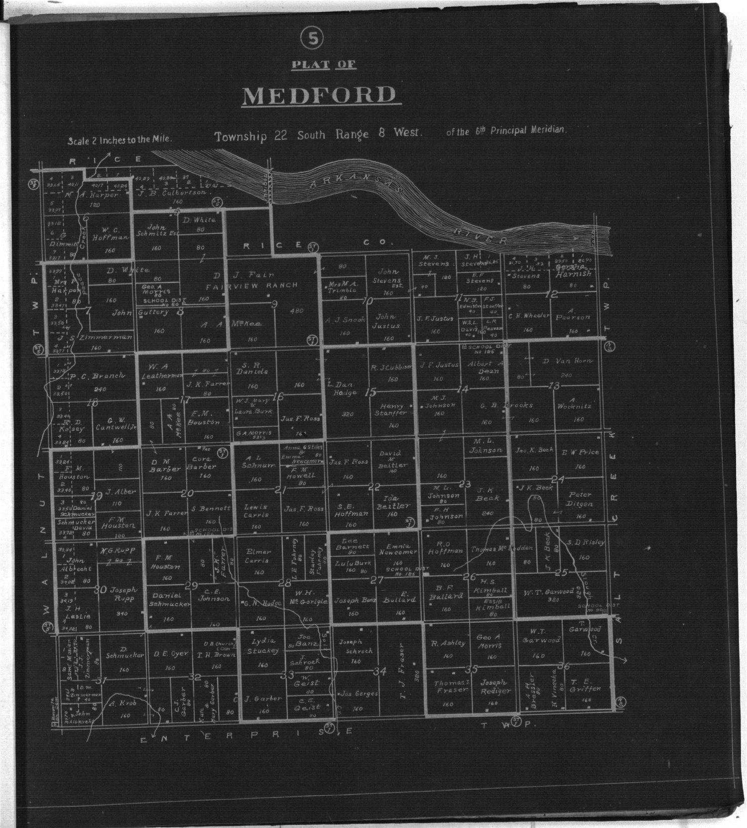 Plat book of Reno County, Kansas - 5