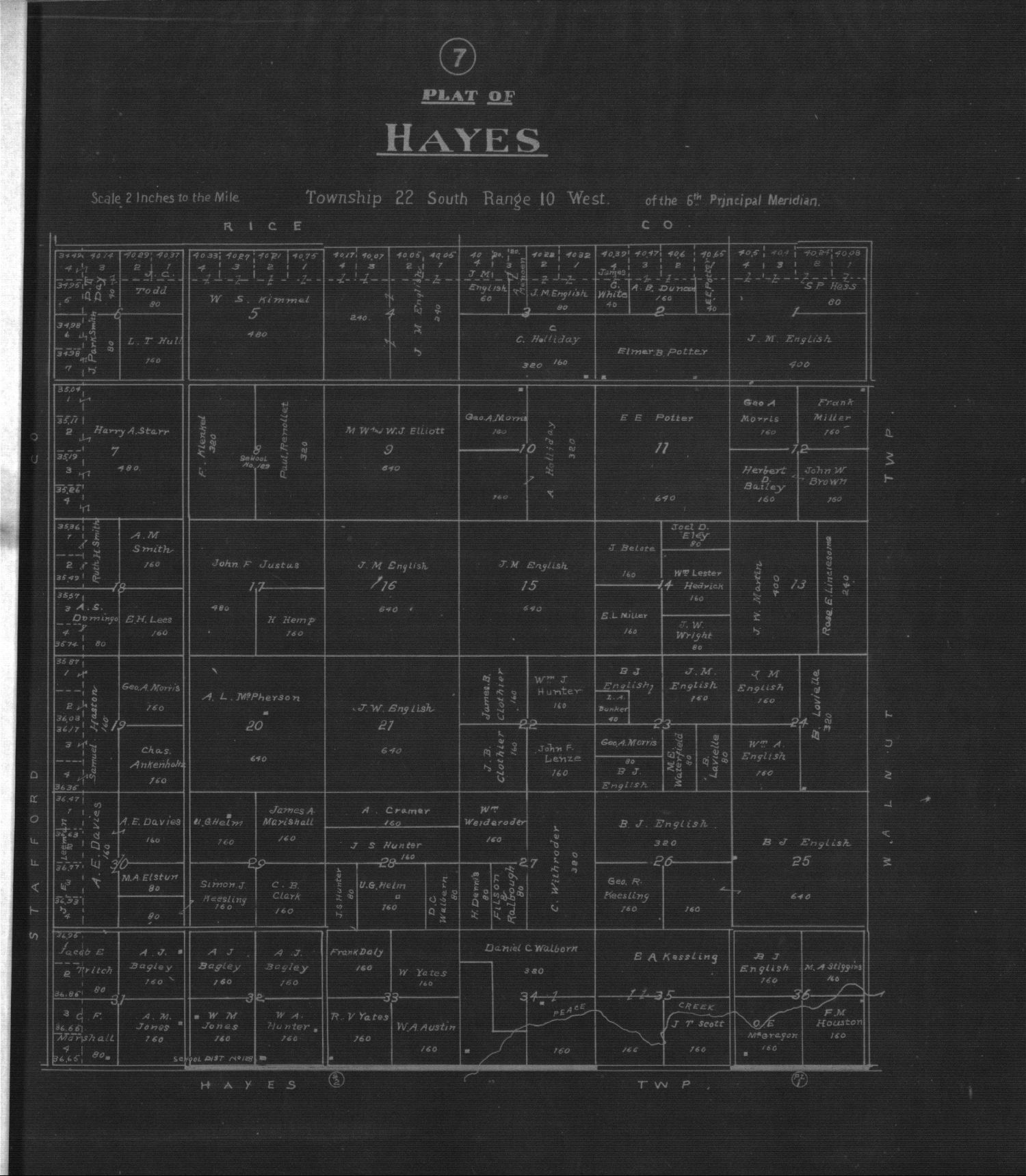 Plat book of Reno County, Kansas - 7