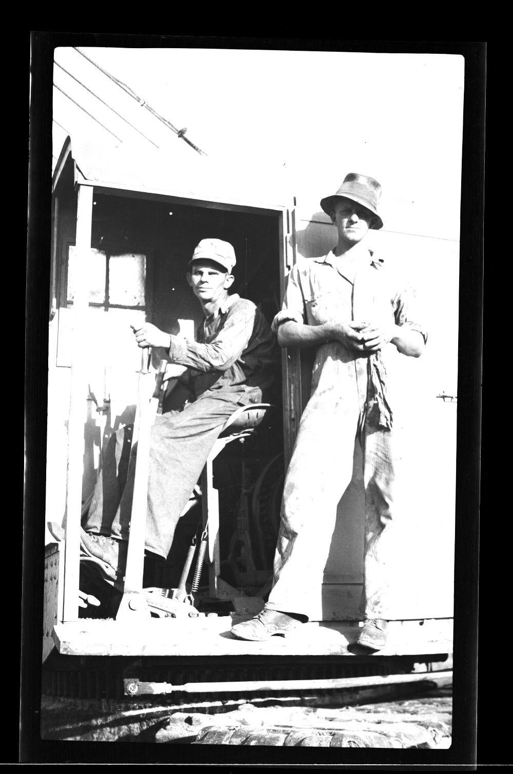 Construction workers, Marysville, Kansas