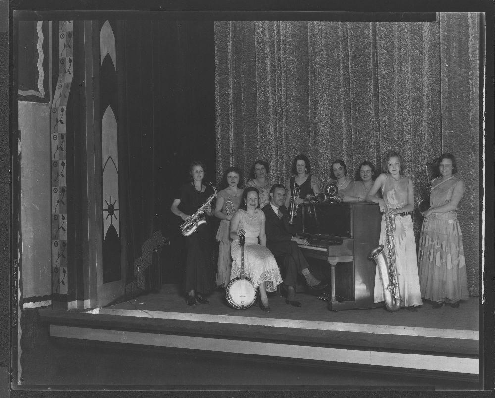 Band, Iola, Kansas