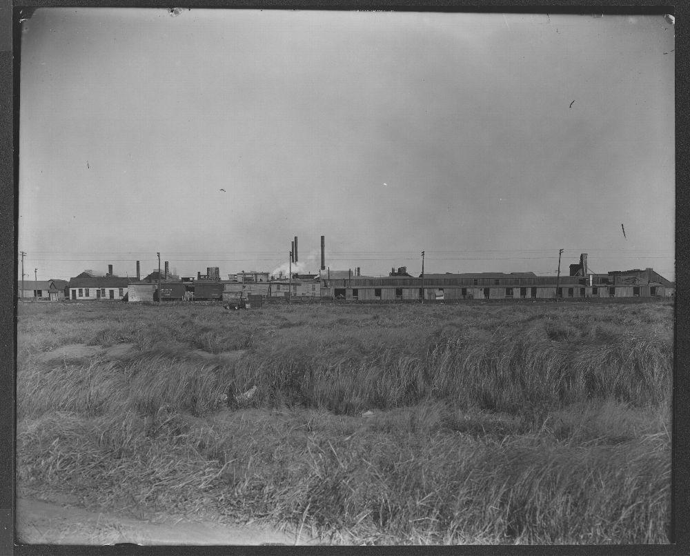 Zinc smelting operation, Iola, Kansas