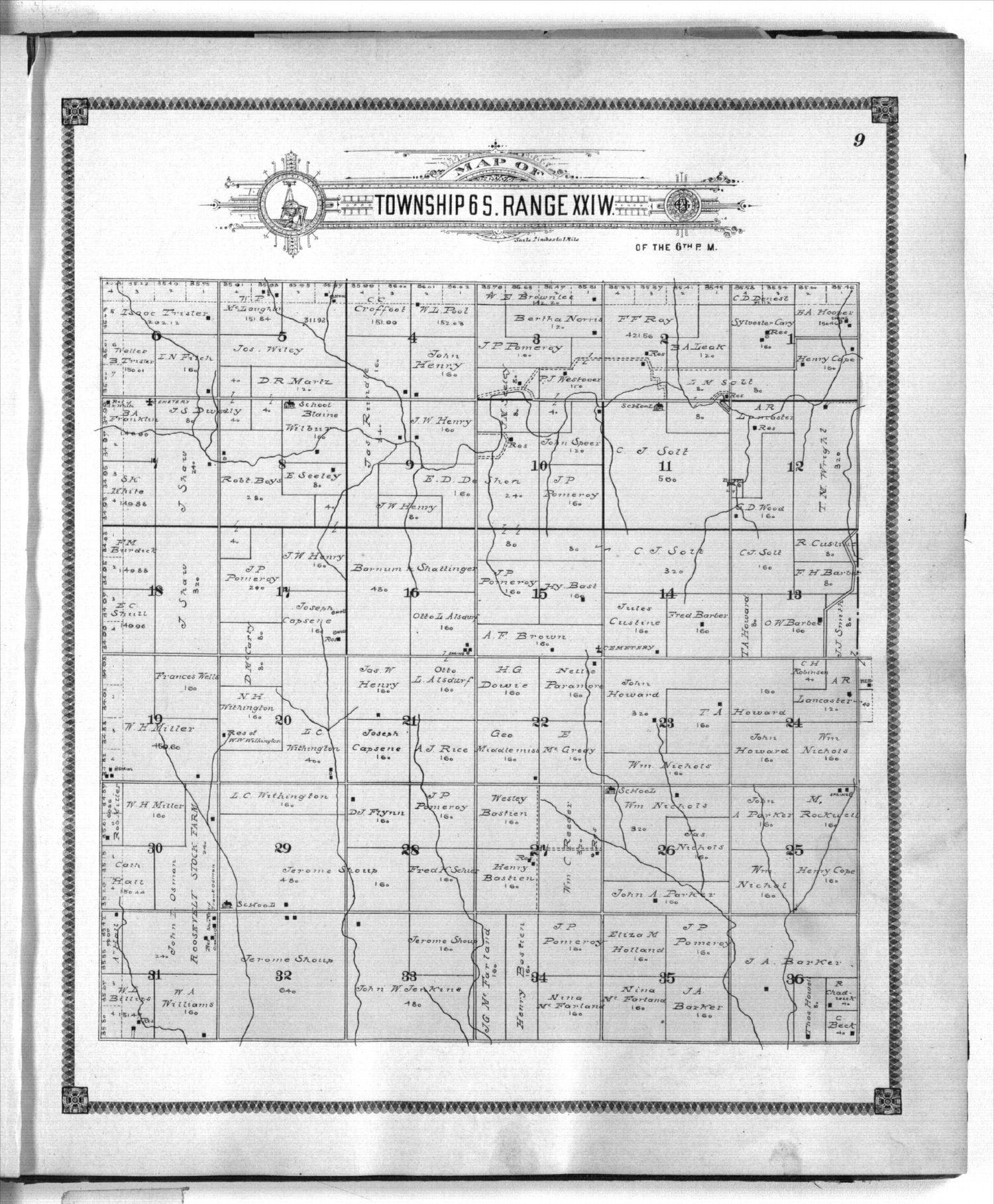 Standard atlas of Graham County, Kansas - 9