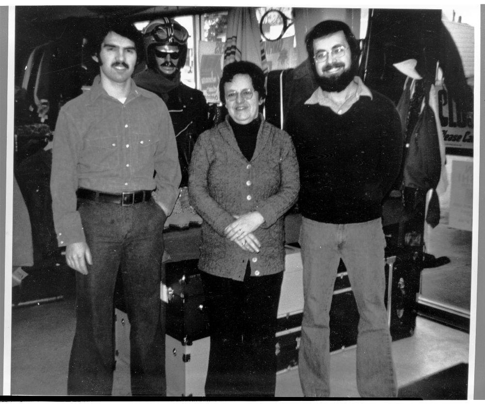 Alan, Fannie and Jack Wisman