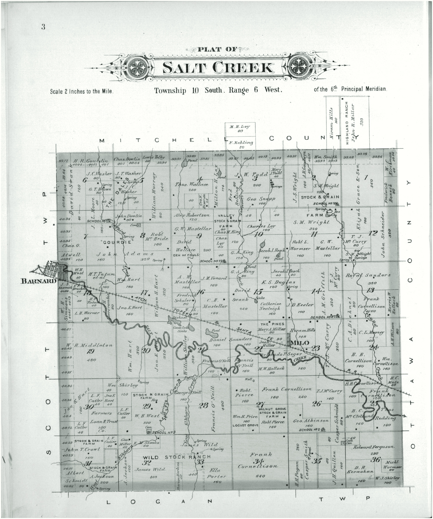 Plat book of Lincoln County, Kansas - 3