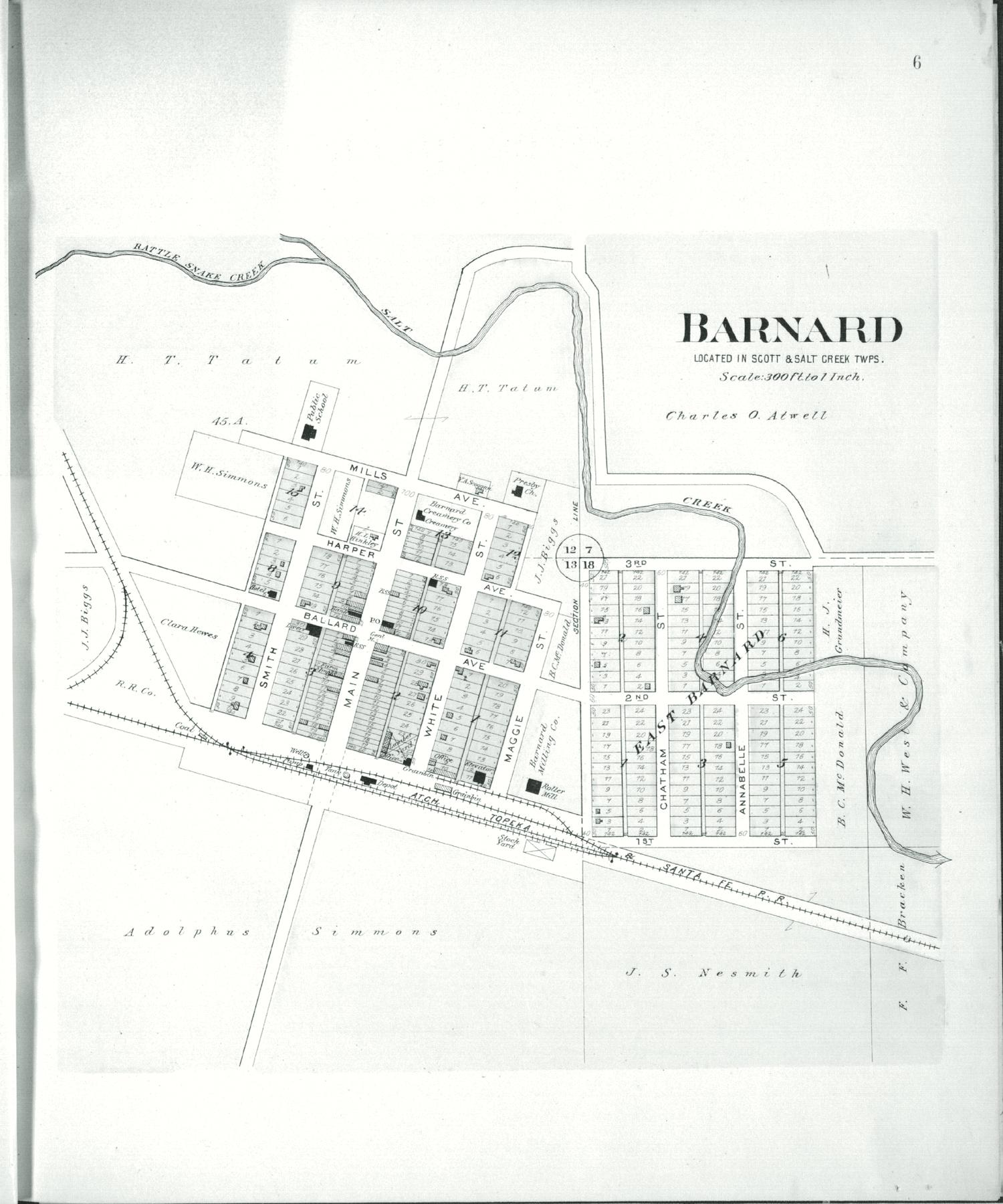 Plat book of Lincoln County, Kansas - 6