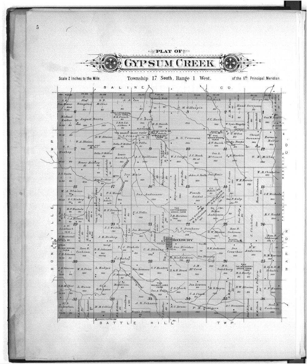 Plat book of McPherson County, Kansas - 5