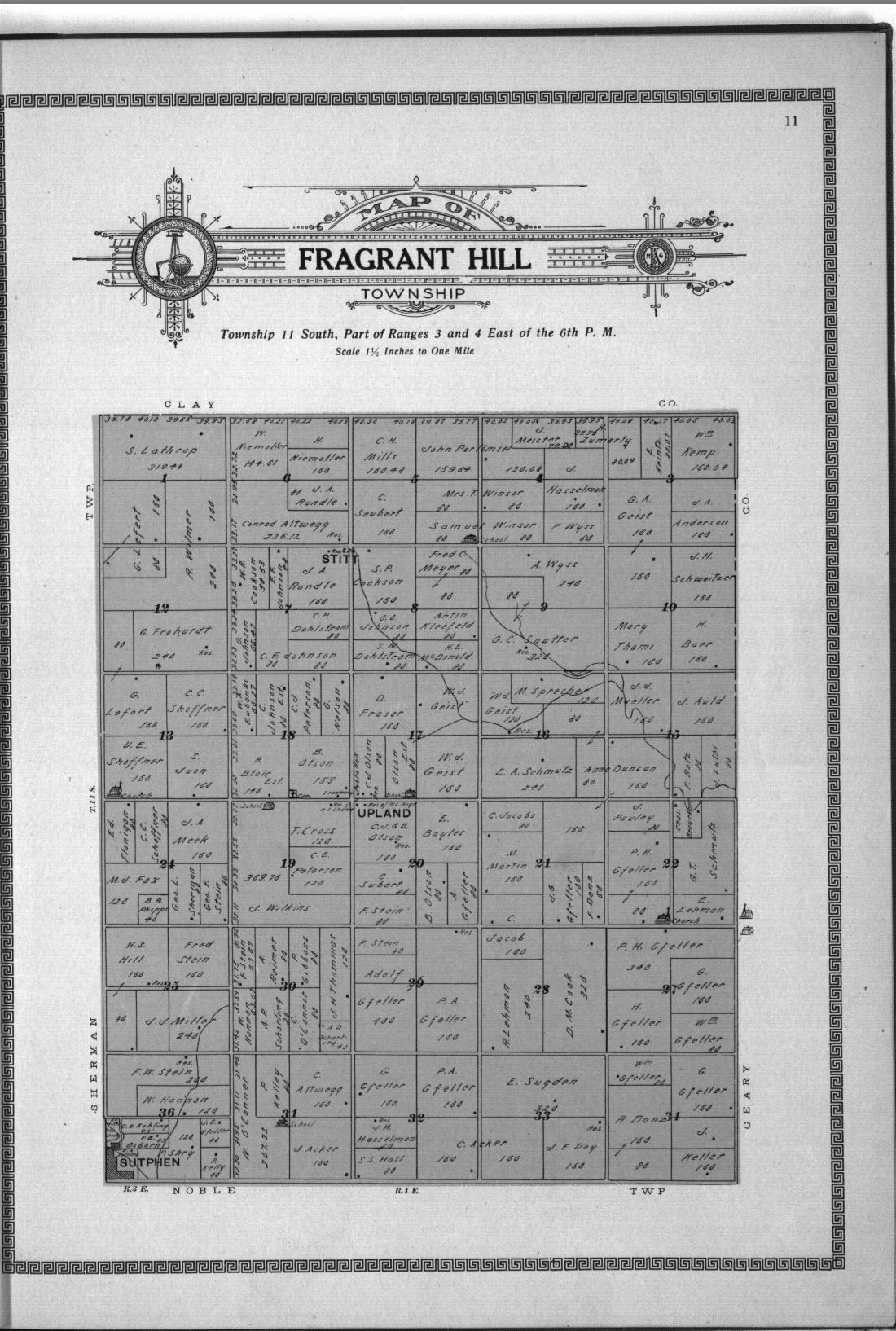 Plat book and complete survey of Dickinson County, Kansas - 11