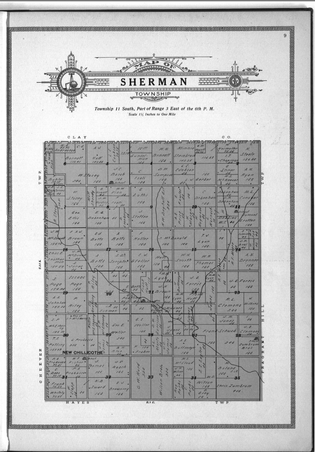 Plat book and complete survey of Dickinson County, Kansas - 9