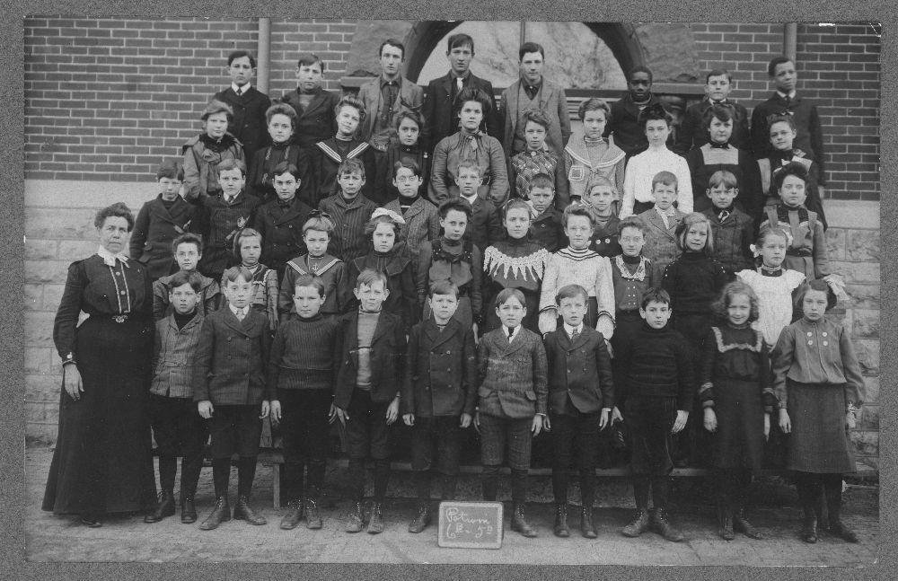 Students at Potwin Grade School, Topeka, Kansas