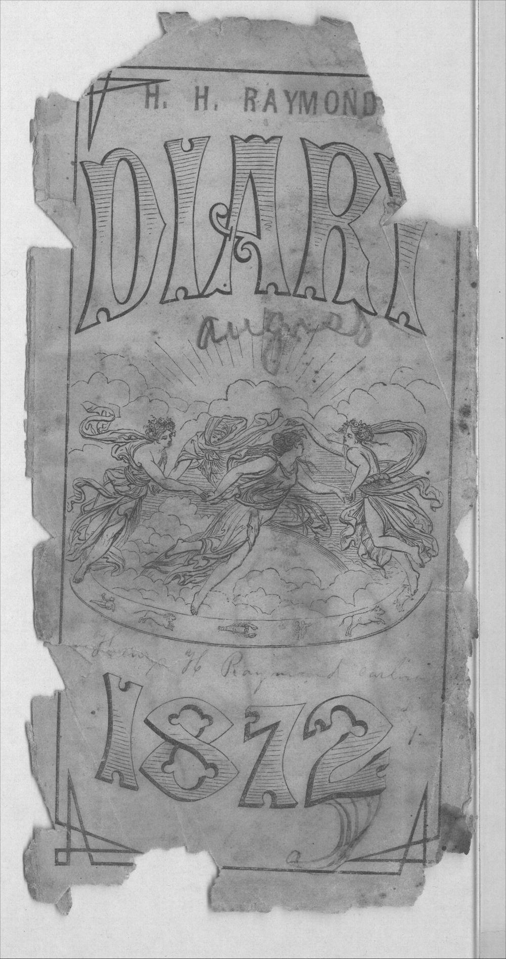 Henry Raymond diary - Title