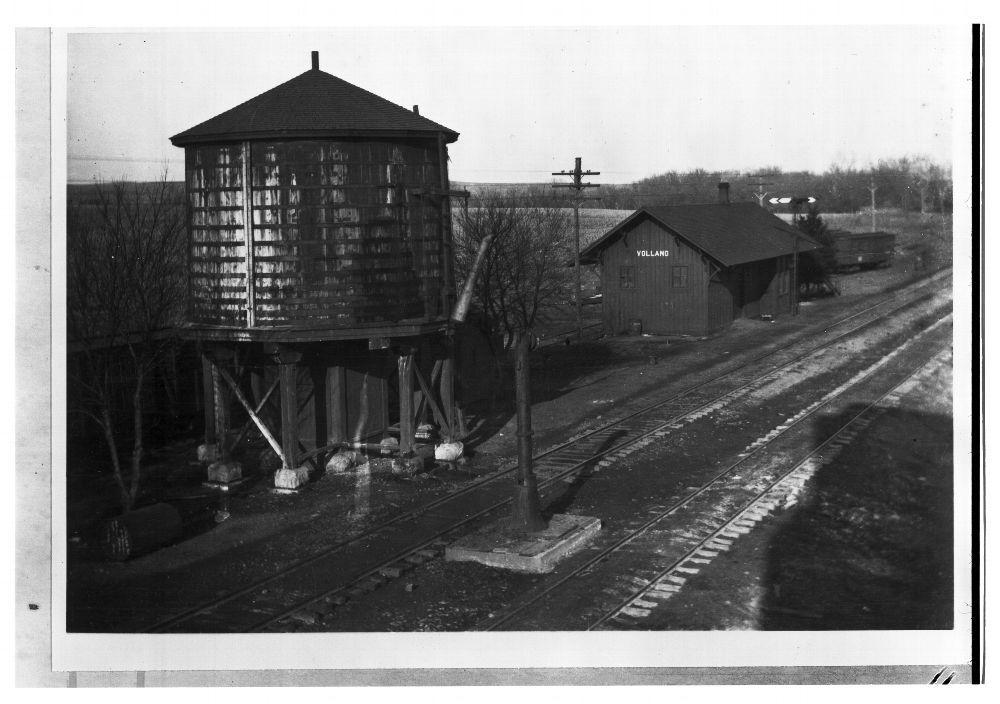 Chicago, Rock Island & Pacific Railroad depot, Volland, Kansas
