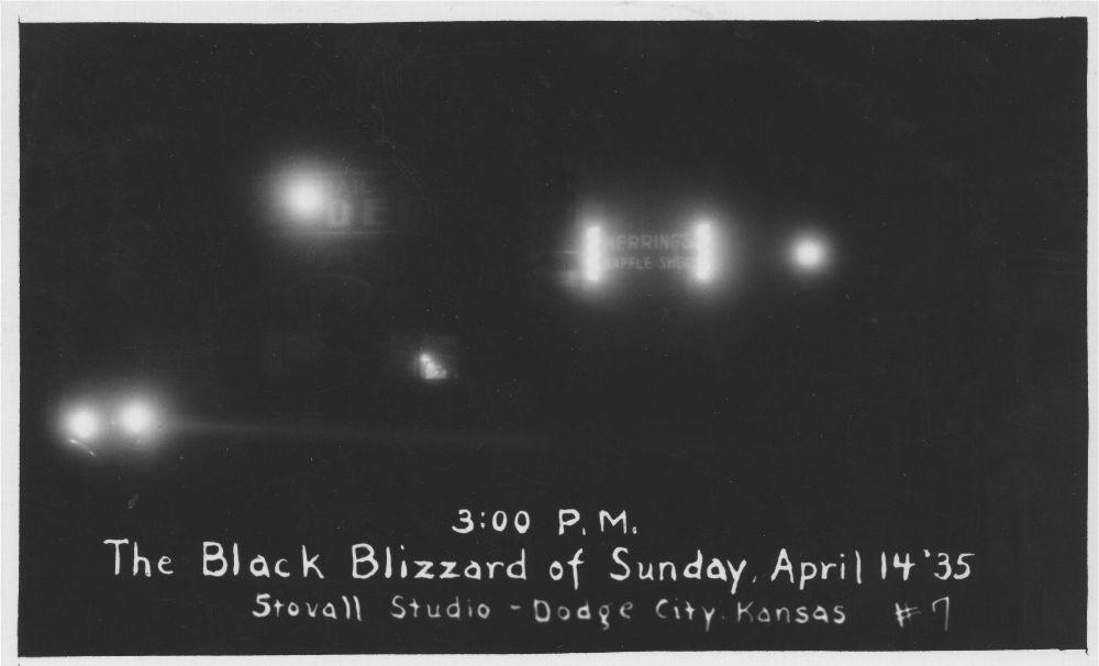 The Black Blizzard, Dodge City, Kansas