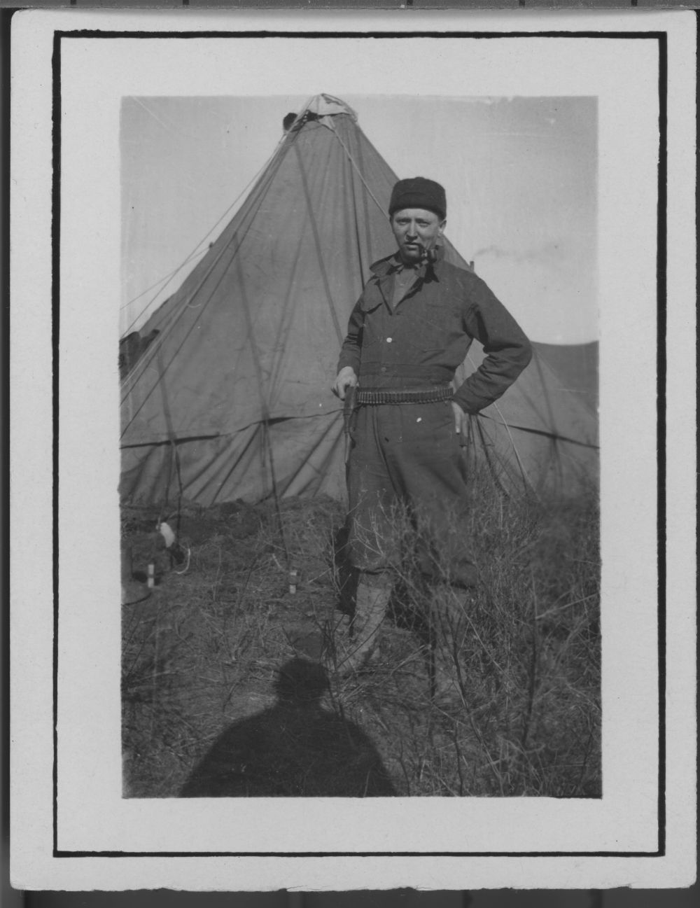 Kansas National Guardsman in the southeast Kansas coal fields