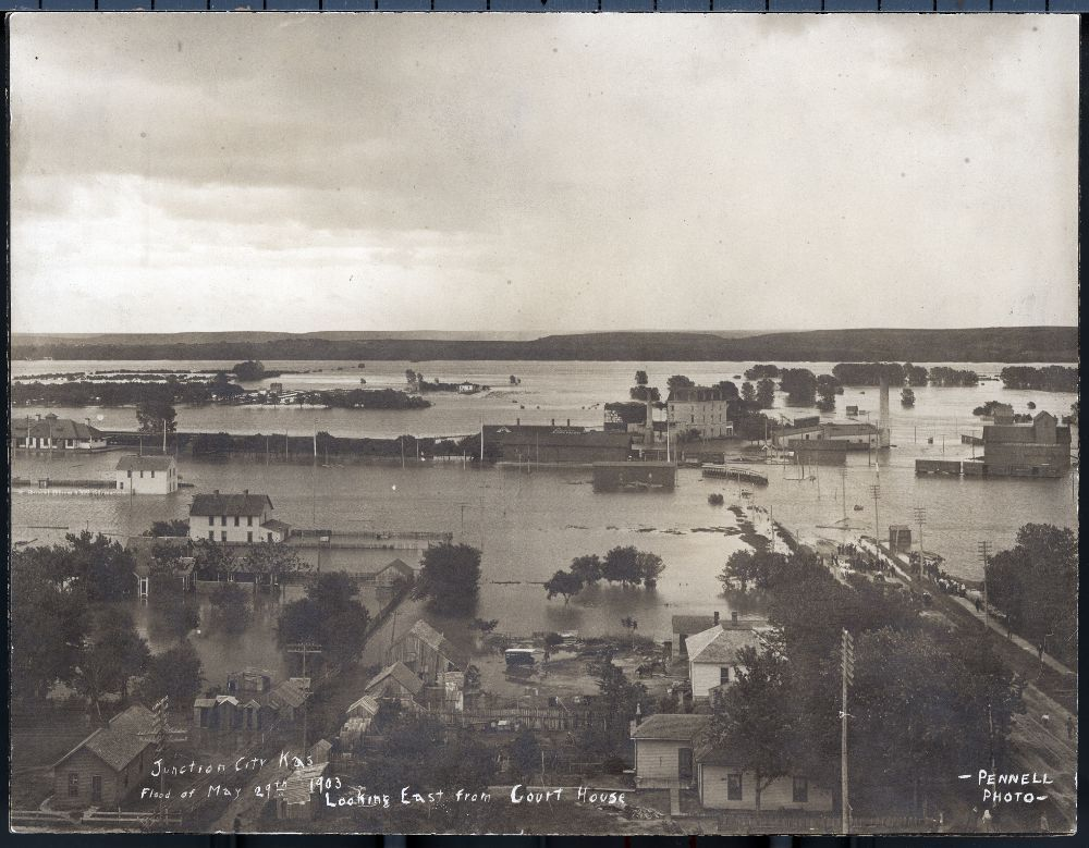 Flood at Junction City, Kansas