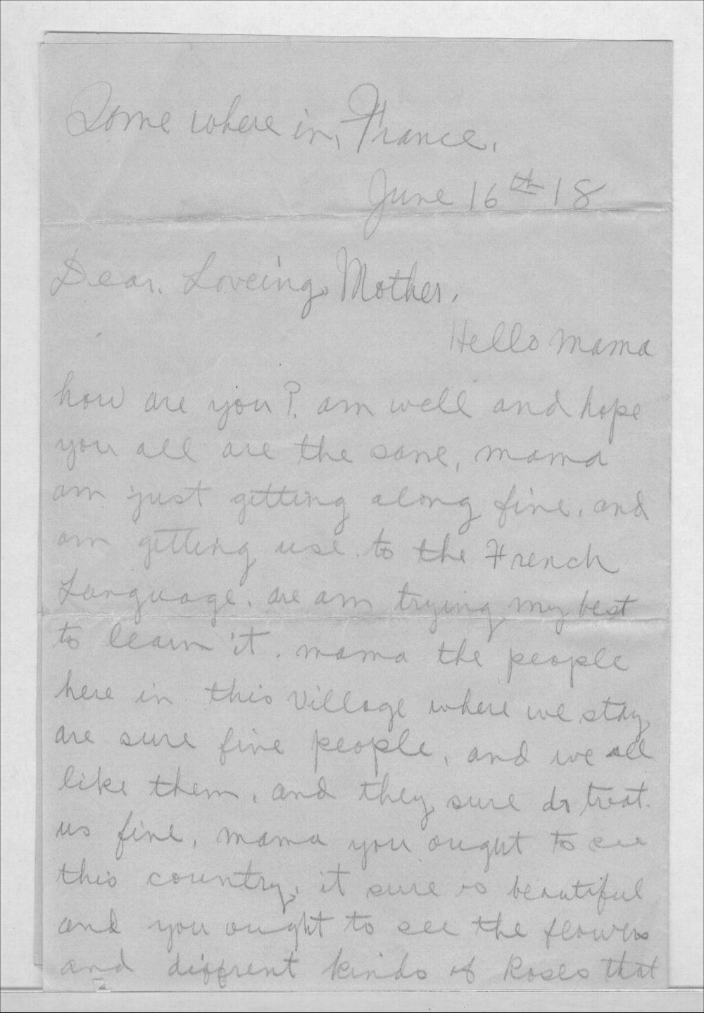 John A. Gersic to Mrs. Joseph Gersic - 1
