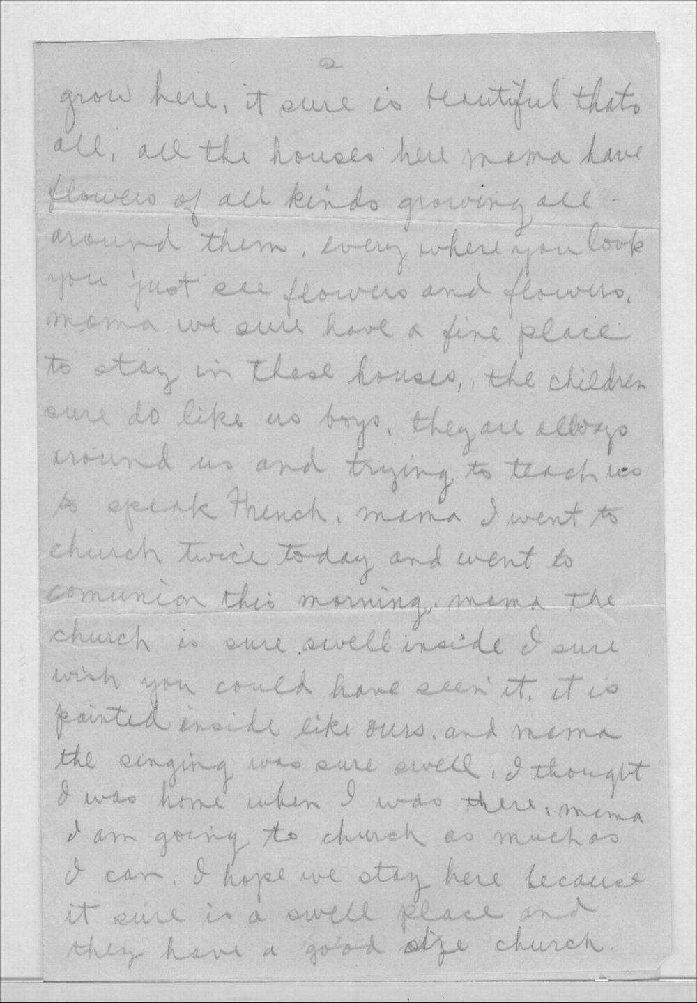 John A. Gersic to Mrs. Joseph Gersic - 2