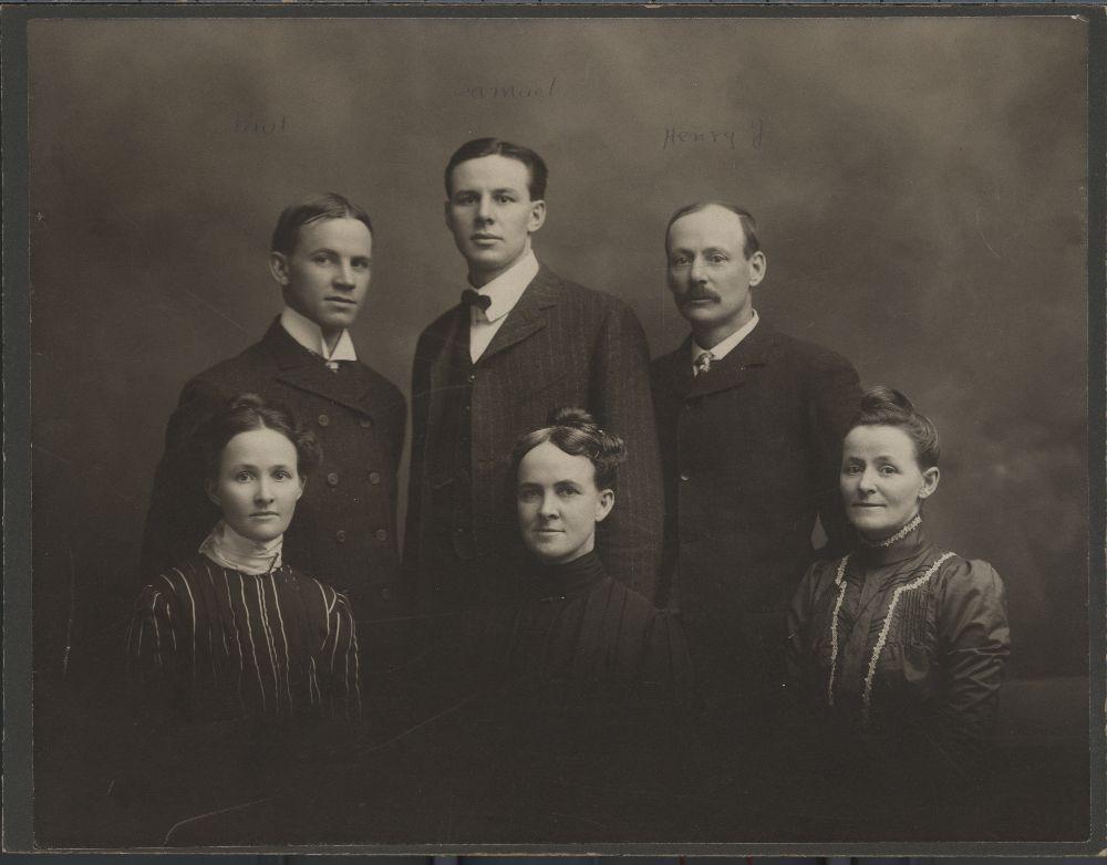 Children of Franklin G. and Harriet C. Adams