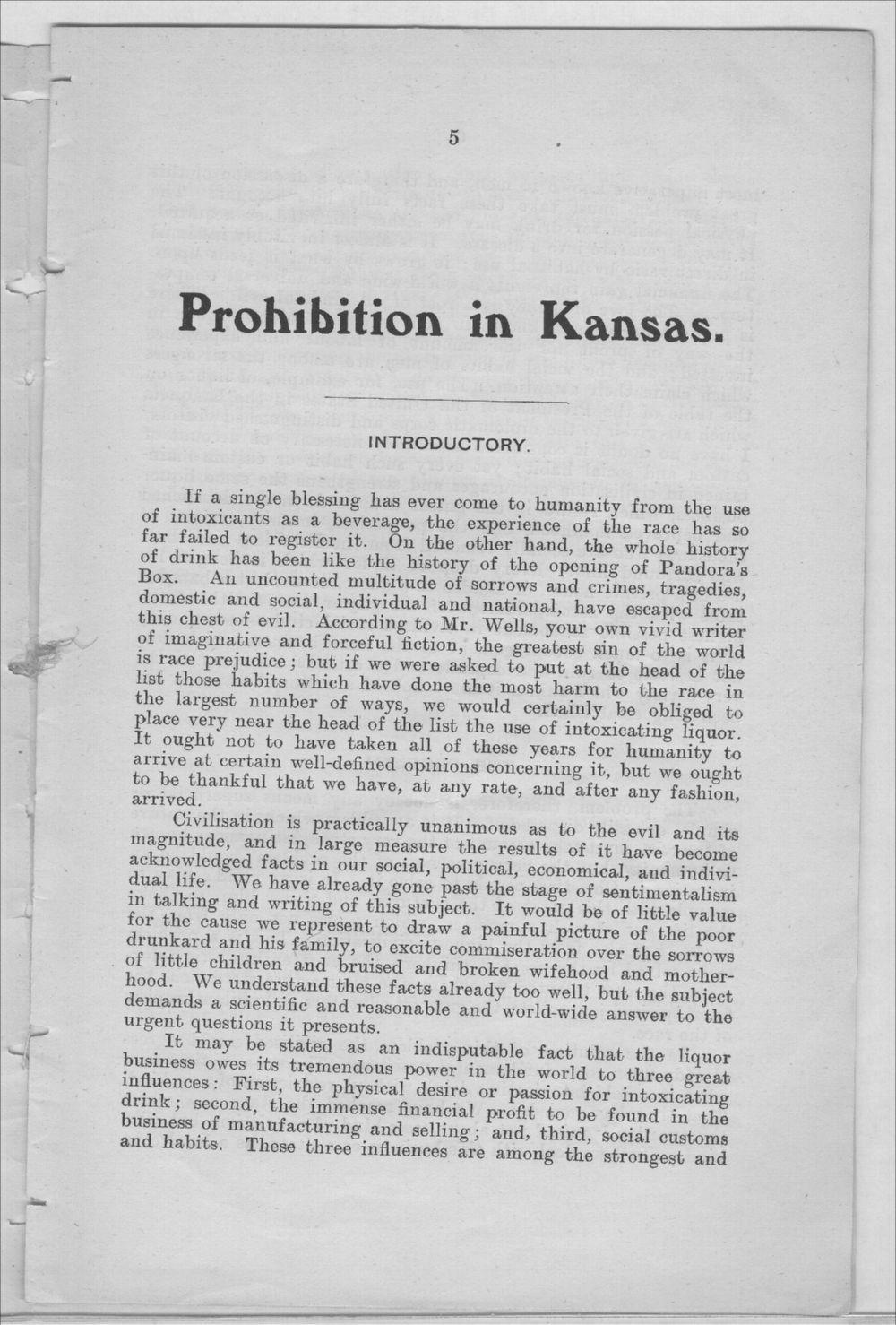 Prohibition in Kansas, U.S.A. - 5