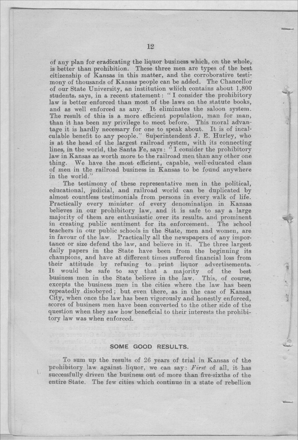 Prohibition in Kansas, U.S.A. - 12