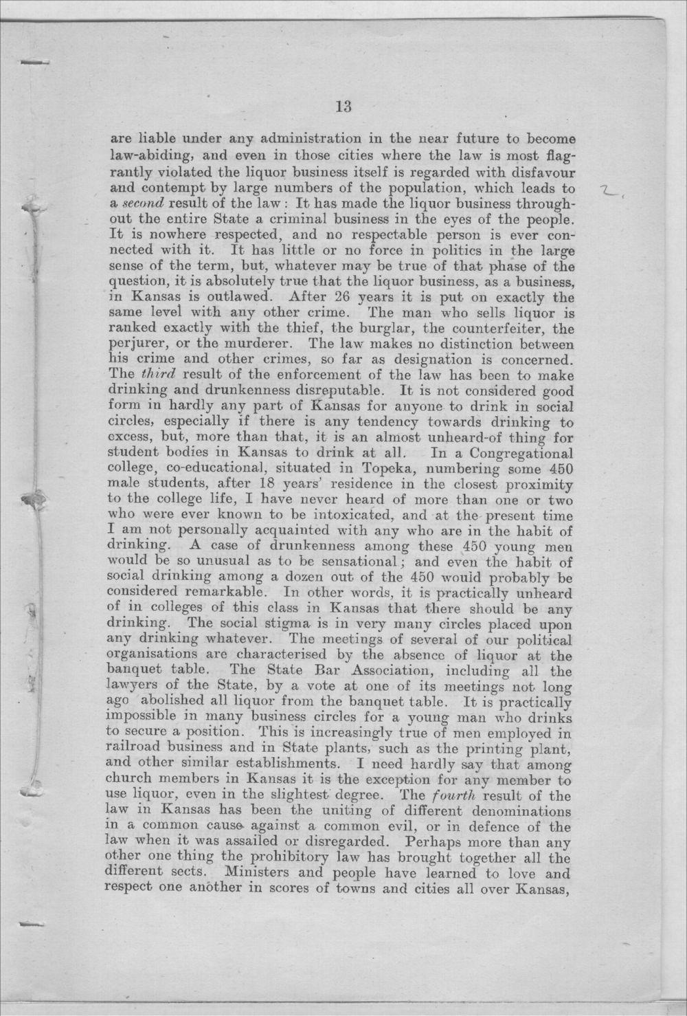Prohibition in Kansas, U.S.A. - 13