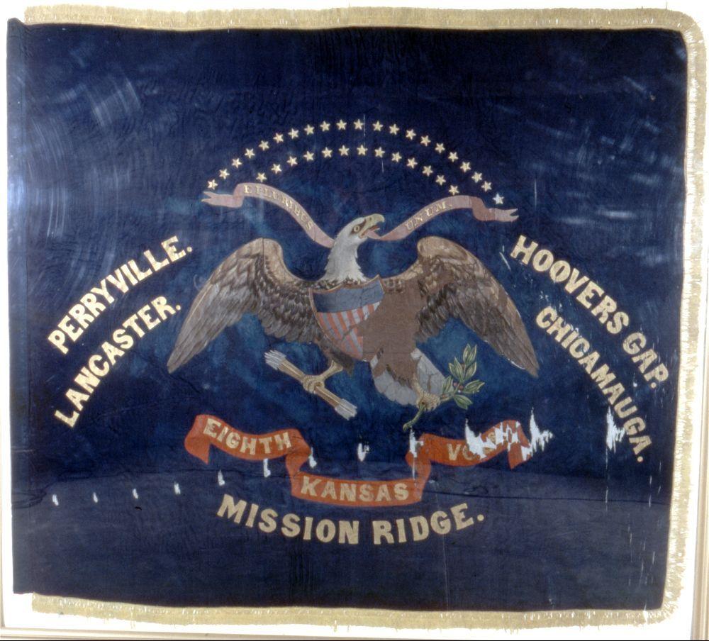 8th Kansas Volunteer Infantry flag