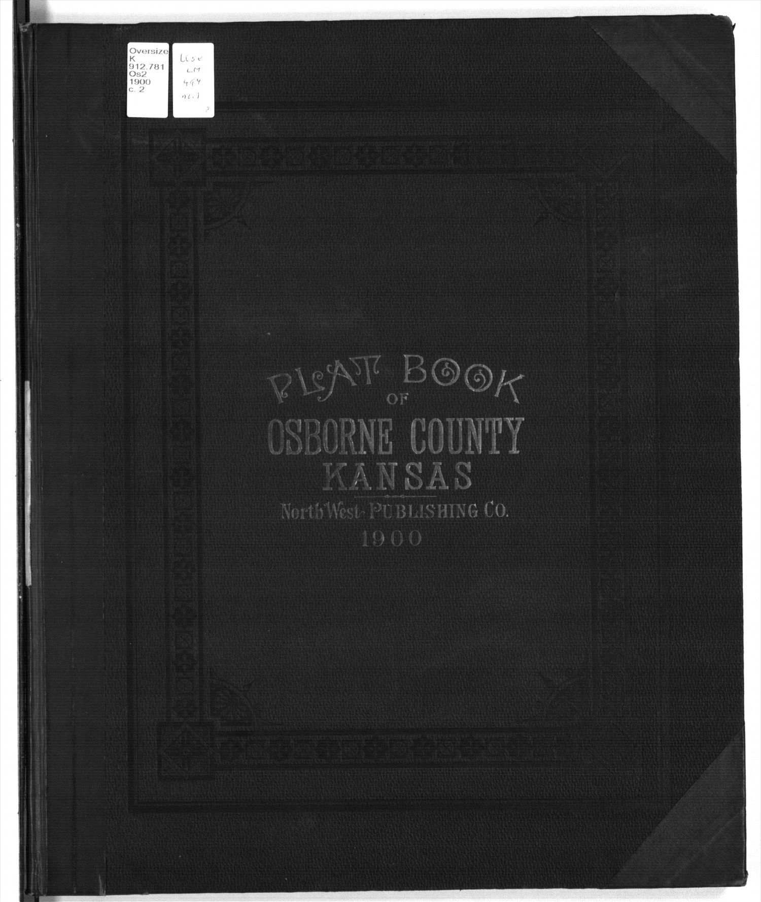 Plat book of Osborne County, Kansas - Front Cover