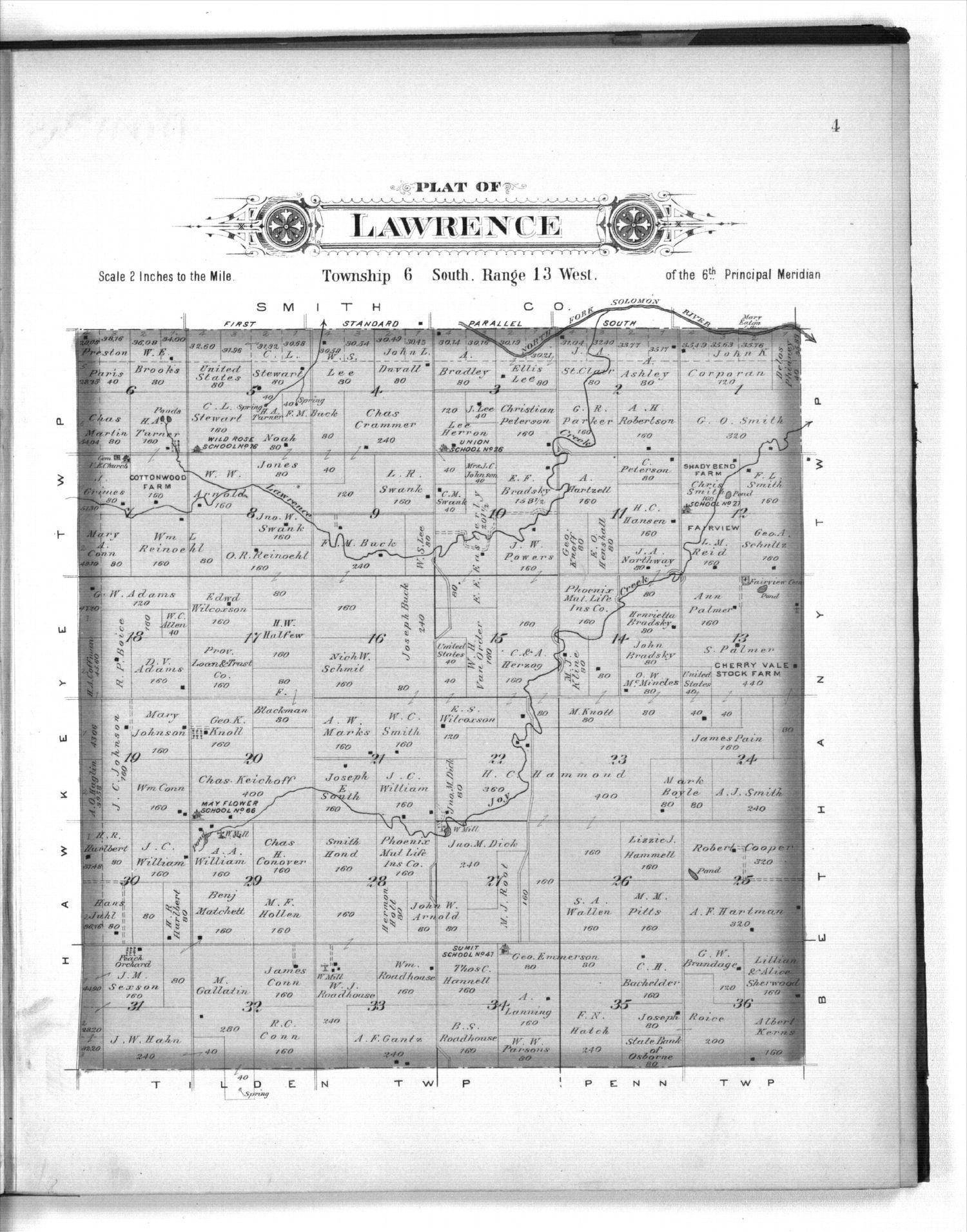 Plat book of Osborne County, Kansas - 4