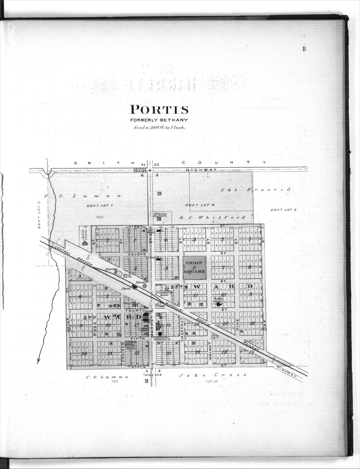 Plat book of Osborne County, Kansas - 8